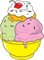 A Dish of Ice Cream