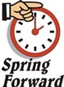 Spring Forward Clock