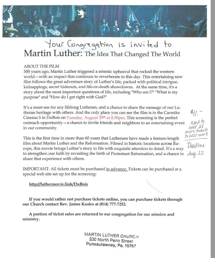 Martin Luther Movie